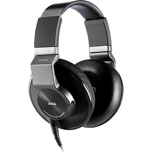 AKG K553 MKII Closed Back Studio Headphones Condition 1 - Mint Black