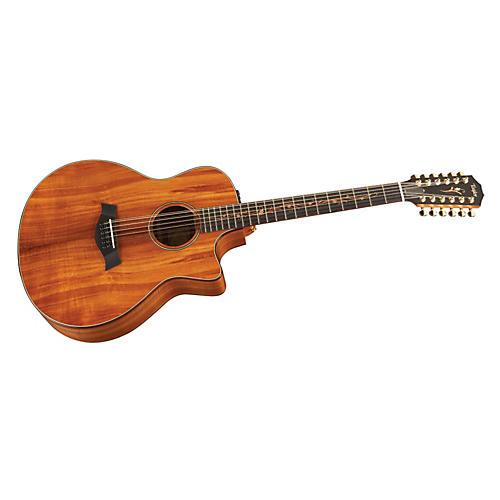 Taylor K66ce Koa Grand Symphony 12-String Acoustic-Electric Guitar