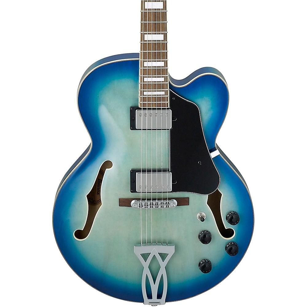Ibanez Artcore Af75 Hollowbody Electric Guitar Jet Blue Burst