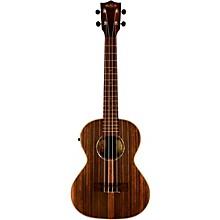 Open BoxKala KA-EBY-TE Ebony Tenor Acoustic-Electric Ukulele