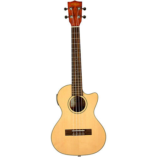 Kala KA-STGE-C Spruce Top Tenor Acoustic-Electric Ukulele