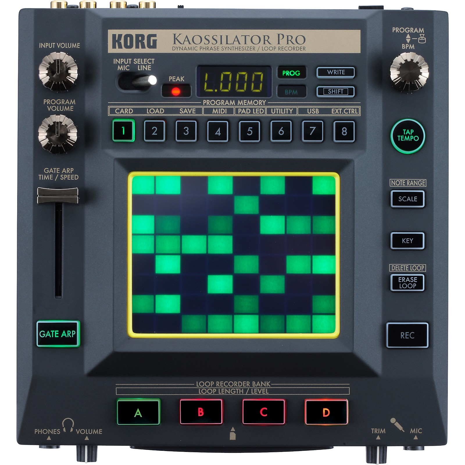 Korg KAOSSILATOR PRO - Dynamic Phrase Synth/Loop Recorder