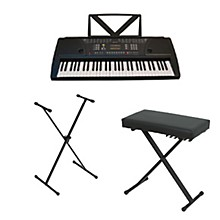 Huntington KB61 Portable Keyboard w/ Stand and Bench
