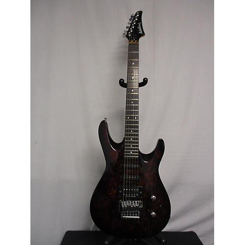 Washburn KC40 Solid Body Electric Guitar BURL