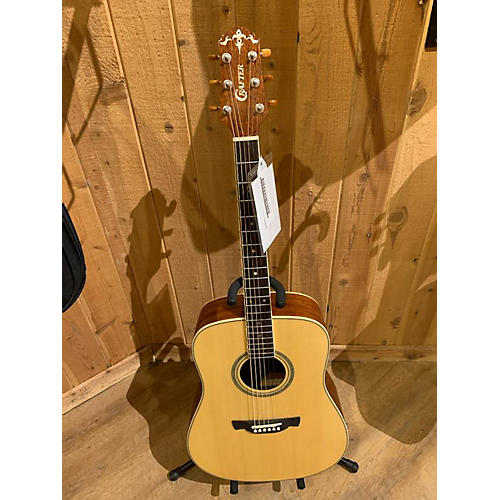 Crafter Guitars KD 10 Acoustic Guitar Natural