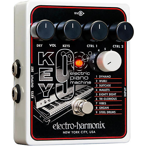 electro harmonix key9 electric piano machine guitar pedal musician 39 s friend. Black Bedroom Furniture Sets. Home Design Ideas