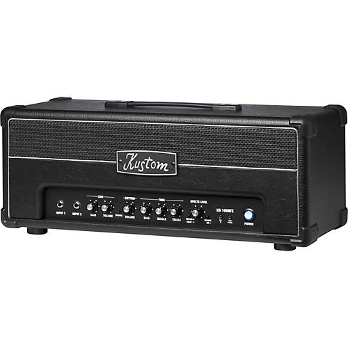kustom kg100hfx 100w guitar amp head with digital effects musician 39 s friend. Black Bedroom Furniture Sets. Home Design Ideas