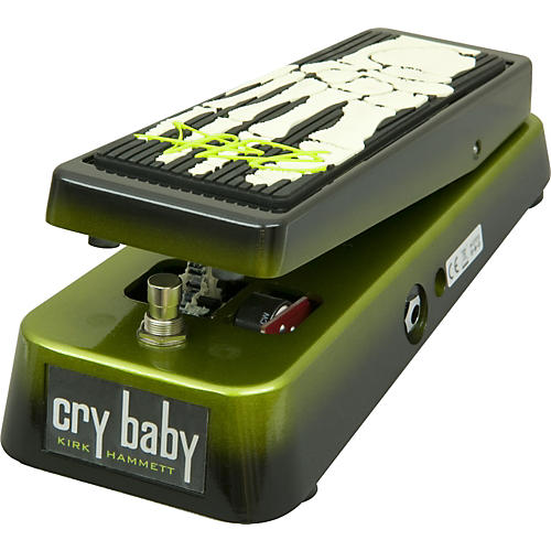 Dunlop KH95 Kirk Hammett Signature Cry Baby Wah Guitar Effects Pedal Black and Green