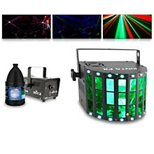 CHAUVET DJ KINTA FX with Hurricane 700 Fog Machine and Juice