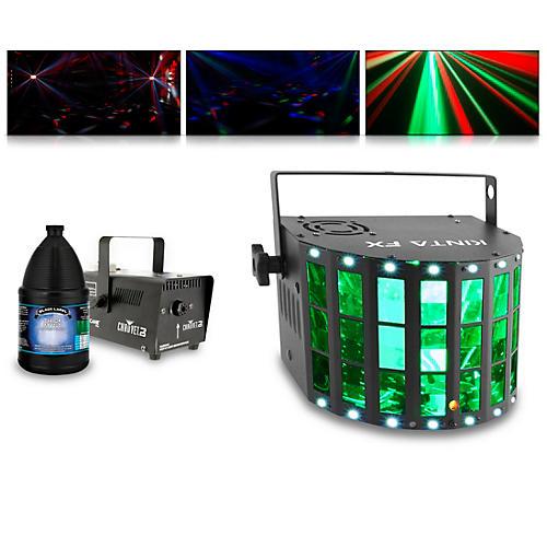 CHAUVET DJ KINTA FX with Hurricane 700 Fog Machine and Juice