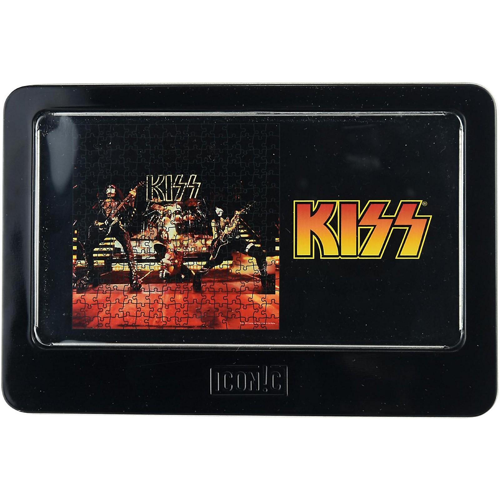 Iconic Concepts KISS 1977 Live Performance 3D Lenticular Puzzle