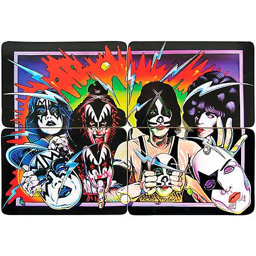 Funko KISS Unmasked - Drink Coaster Set of 4