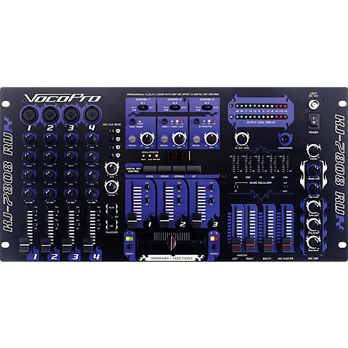 VocoPro KJ-7808RV Pro DJ and Karaoke Mixer