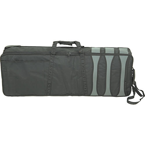 Musician's Friend KKP-7KB 61-Key Wheeled Soft Case