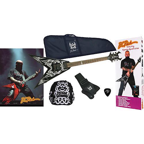 B.C. Rich KKV Kerry King Electric Guitar Package