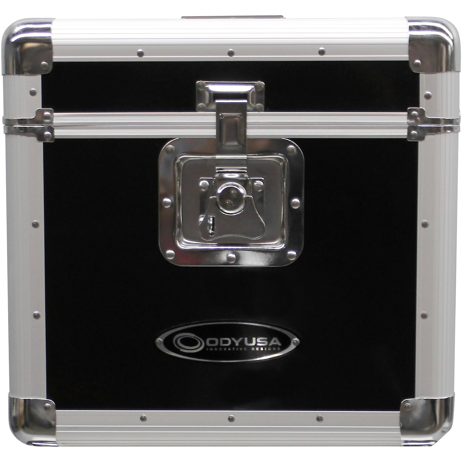 Odyssey KLP2BLK Stackable Record Utility Case for 12
