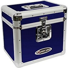 "Odyssey KLP2BLU Stackable Record Utility Case for 12"" Vinyl Records and LPs"