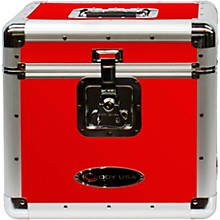"Odyssey KLP2RED Stackable 12"" LP Vinyl Record Case, Red"