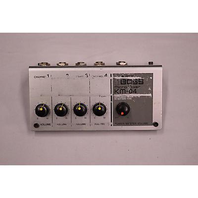 Boss KM-04 Unpowered Mixer
