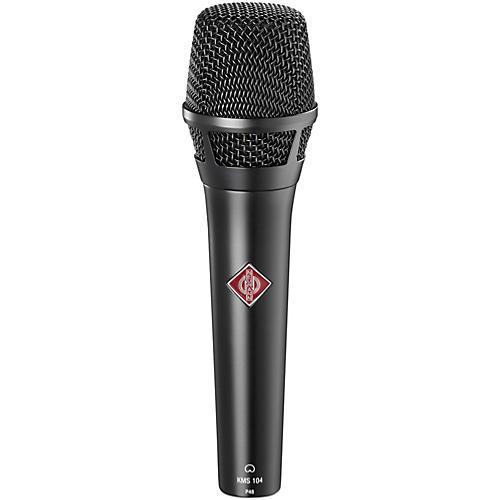 Neumann KMS 104 Handheld Vocal Condenser Microphone Black
