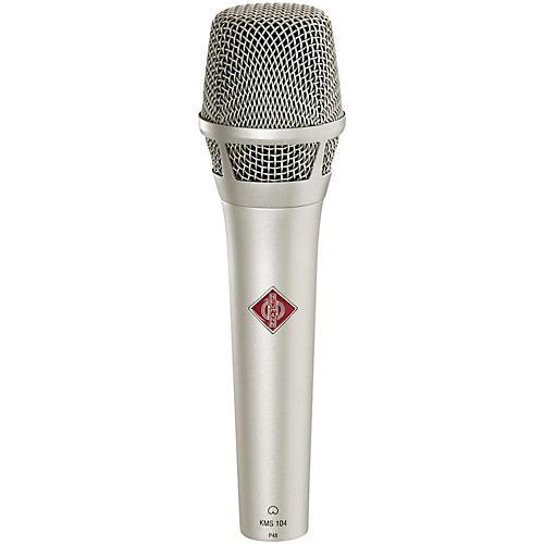 Neumann KMS 104 Handheld Vocal Condenser Microphone Condition 1 - Mint Nickel