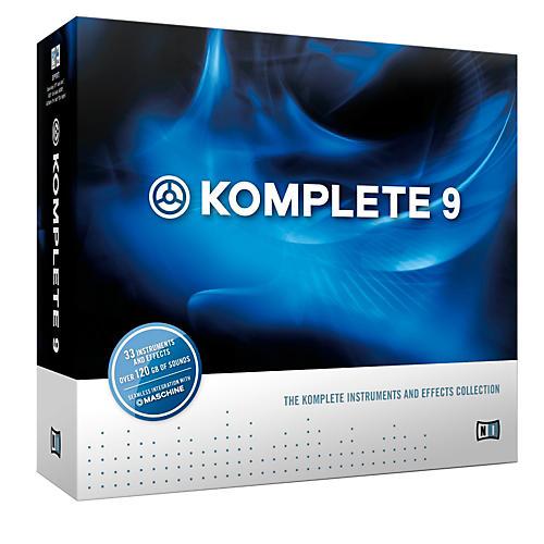 Native Instruments KOMPLETE 9 CRG