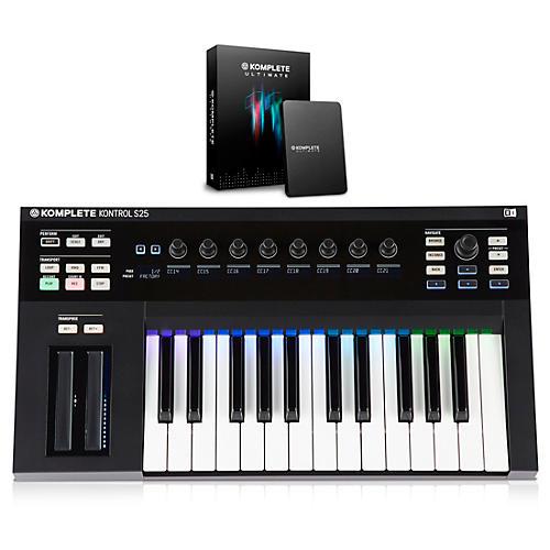 Native Instruments KOMPLETE KONTROL S25 Keyboard Controller with KOMPLETE 11 ULTIMATE