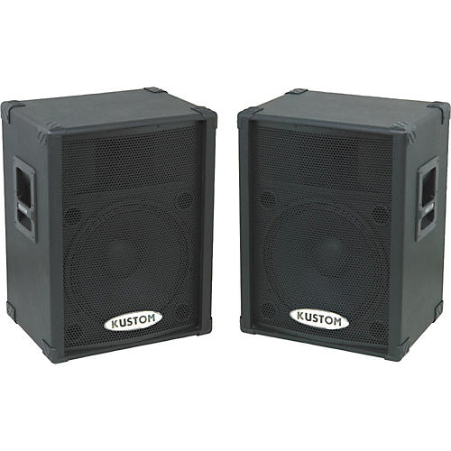 Kustom PA KPC15P Powered Speaker Pair