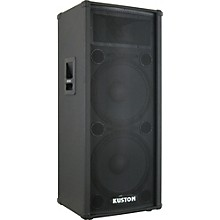 "Kustom KPC215H 2x15"" PA Speaker Cabinet with Horn"