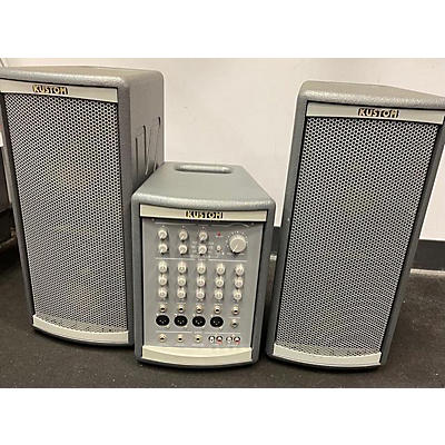 Kustom PA KPS LS100 Powered Speaker