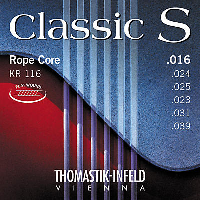 Thomastik KR116 Classic S Series Flatwound Light Guitar Strings