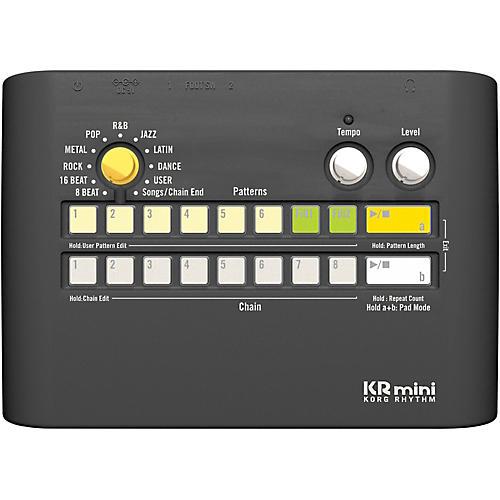 korg krmini compact rhythm machine musician 39 s friend. Black Bedroom Furniture Sets. Home Design Ideas