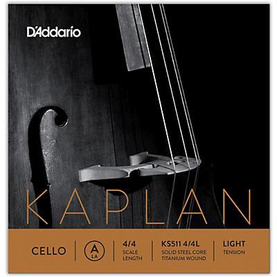 D'Addario KS511 Kaplan Solutions 4/4 Size Cello A String