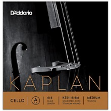 KS511 Kaplan Solutions 4/4 Size Cello A String 4/4 Size Medium