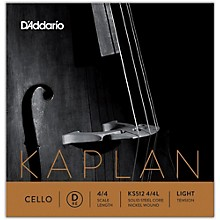 KS512 Kaplan Solutions 4/4 Cello D String 4/4 Size Light