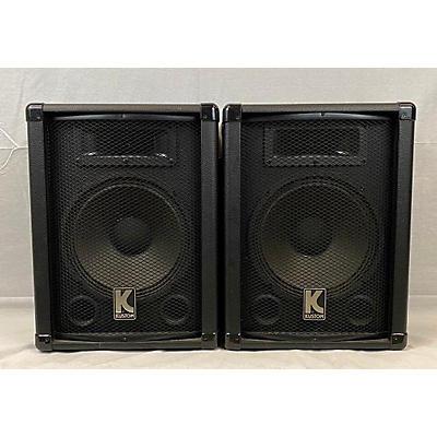 Kustom PA KSH10 PAIR Unpowered Speaker