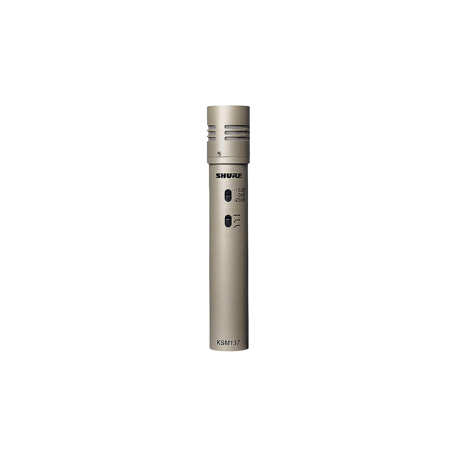 Shure KSM137/SL Cardioid Studio Condenser Microphone