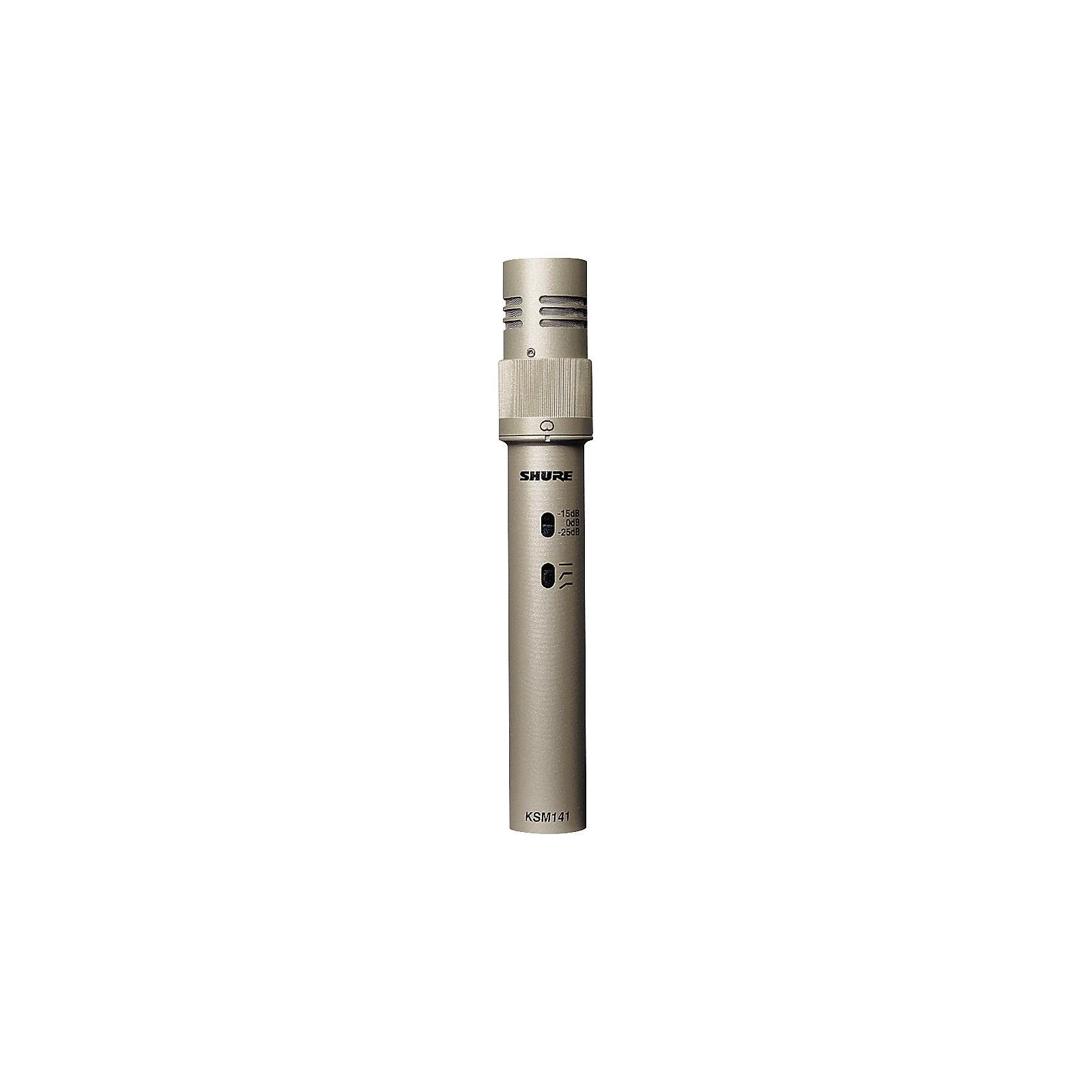 Shure KSM141/SL Dual-Pattern Studio Condenser Microphone