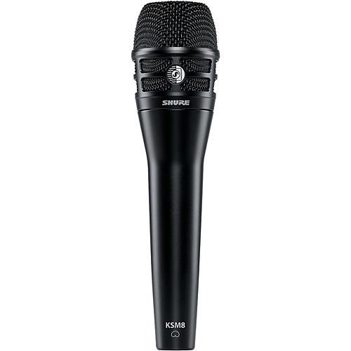 Shure KSM8 Dualdyne Dynamic Handheld Vocal Microphone Black