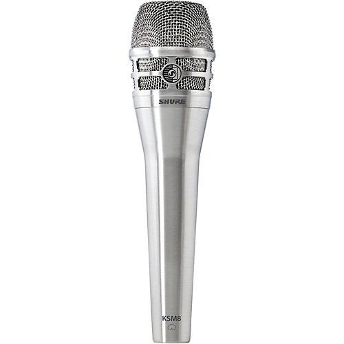 Shure KSM8 Dualdyne Dynamic Handheld Vocal Microphone Nickel