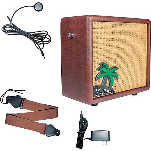 Kustom KUA10 10W 1x6 Ukulele Combo Amplifier with Pickup and Amp Strap Condition 1 - Mint