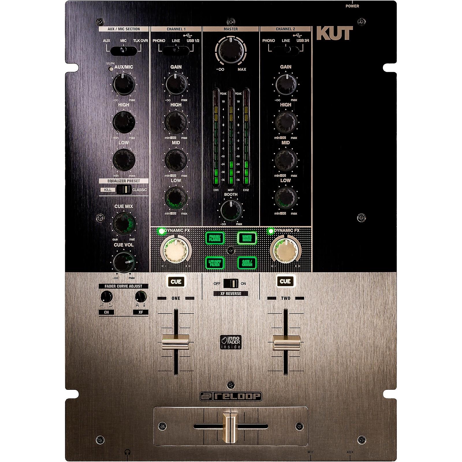 Reloop KUT Digital 2-Channel Battle Mixer
