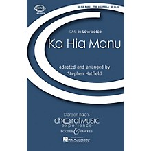 Boosey and Hawkes Ka Hia Manu (CME In Low Voice) TTBB A Cappella arranged by Stephen Hatfield