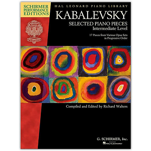 Hal Leonard Kabalevsky: Selected Piano Pieces Intermediate Level-Performance Editions