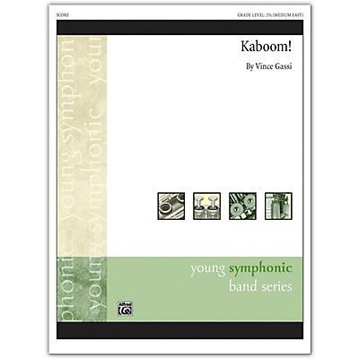 Alfred Kaboom! Conductor Score 2.5 (Medium Easy)