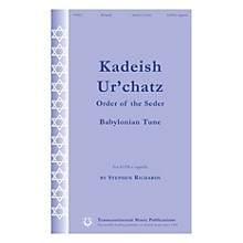 Transcontinental Music Kadeish Ur'chatz (Order of the Seder) SATB a cappella composed by Stephen Richards