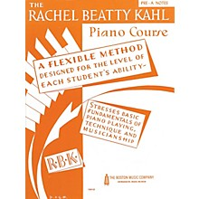 Music Sales Kahl Piano Course Pre-A Notes Music Sales America Series Written by Rachel Beatty Kahl