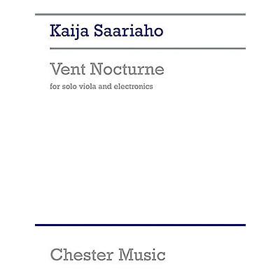 Music Sales Kaija Saariaho: Vent Nocturne Music Sales America Series