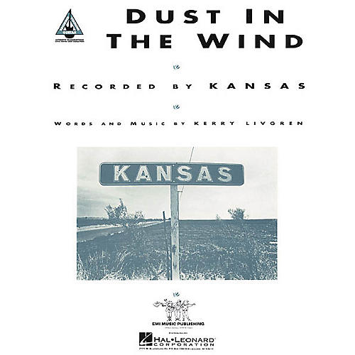 Hal Leonard Kansas: Dust in the Wind (Sheet Music)