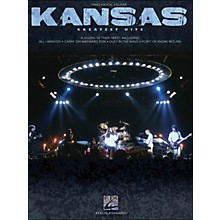 Hal Leonard Kansas Greatest Hits arranged for piano, vocal, and guitar (P/V/G)